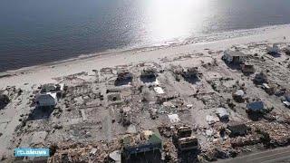 Dorp verwoest door orkaan Michael: 'Het lijkt alsof een bom is ontploft' - RTL NIEUWS