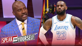 LeBron is making a mistake chasing the MVP — Marcellus Wiley | NBA | SPEAK FOR YOURSELF