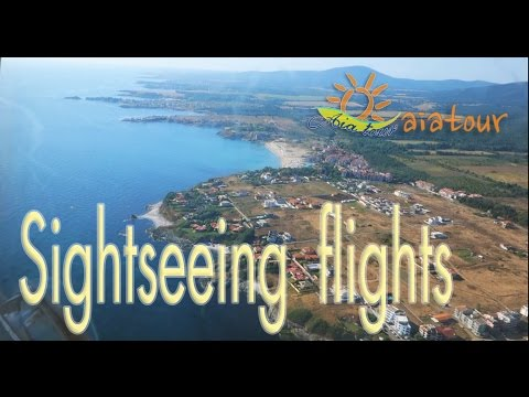 Excursions from Sozopol - Sightseeing Flights - airfield Primorsko