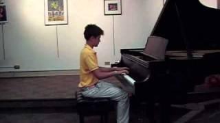 Sebastian Lutz Performs Chopin Live