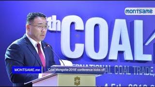 """""""Coal Mongolia-2018"""" conference kicks off"""
