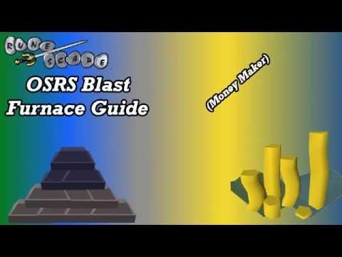 Runescape 2007 Blast Furnace Guide | OSRS Money Making Guide