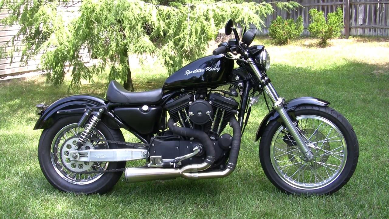 Danmoto Exhaust Harley Sportster