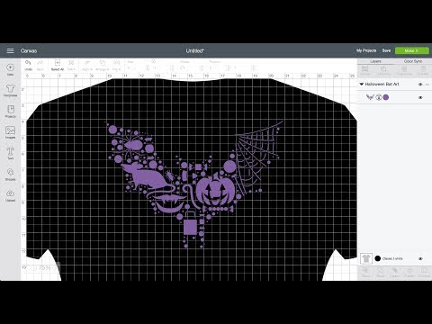 Creating a Halloween Shirt Using Cricut Maker Live 🔴