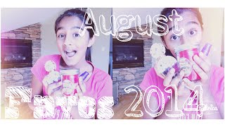 My August Faves 2014 - VVPEACECANADA Thumbnail