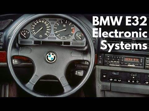 BMW 7 Series (E32) Electronic Systems