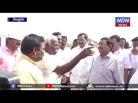 minister narayana visit house for all construction site- NDN News