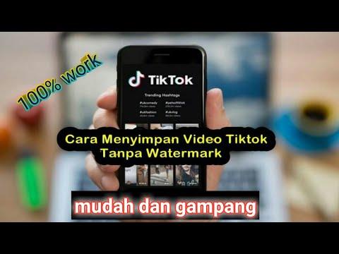 Cara Download Video Tiktok Tanpa Watermark Di Android Terbaru 2020 Youtube