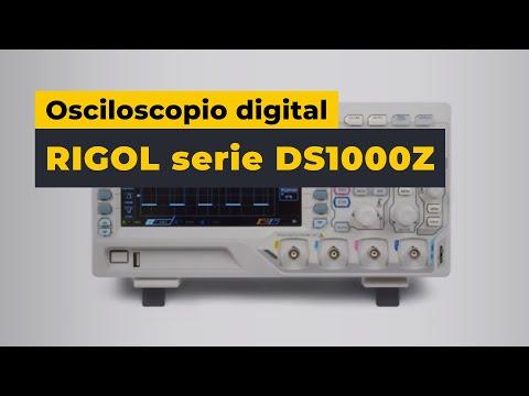 Osciloscopio digital RIGOL serie DS1000Z