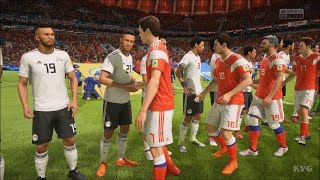 2018 FIFA World Cup Russia - Russia vs Egypt - Gameplay (HD) [1080p60FPS]