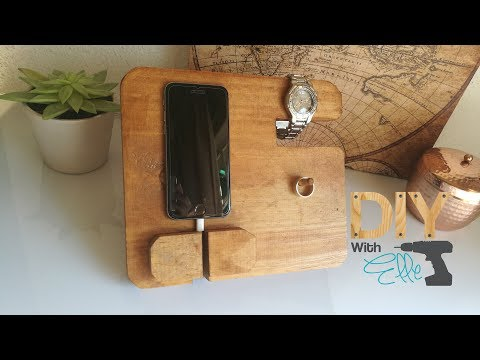DIY with Elle- Cell Phone Docking station