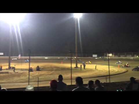 Southern Illinois Raceway - Marion, Illinois - Wingless Micro Sprint racing action