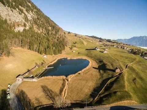 Luftaufnahme Schönenbodensee Wildhaus SG, Schweiz