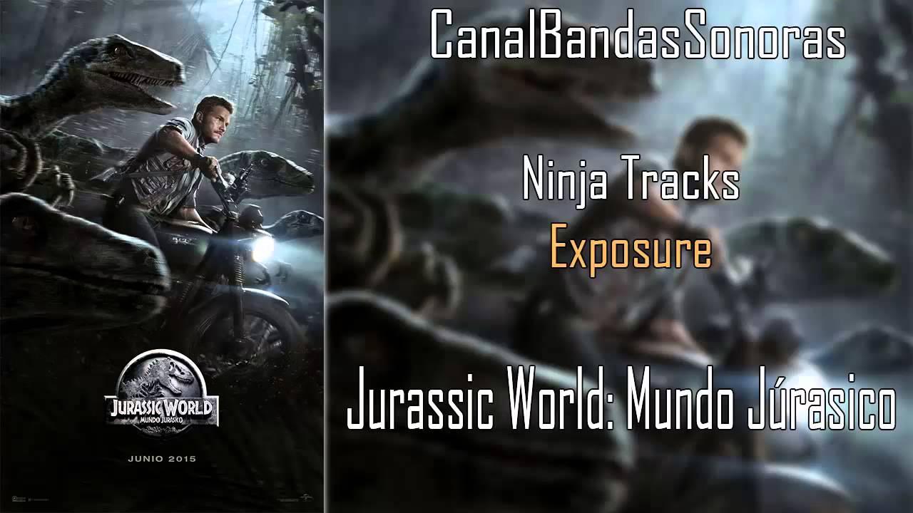 jurassic world mundo jurásico música del trailer  ninja