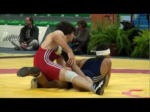 Freestyle Wrestling - Germany vs. France 60kg- PIN (00011)