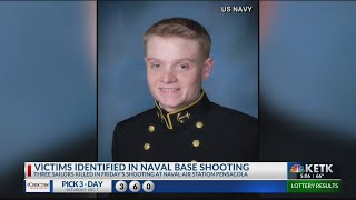 Navy identifies 3 sailors killed in the NAS Pensacola shooting