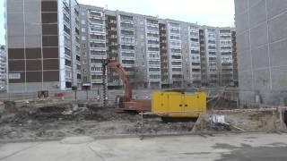 Наноточечная застройка на Родонитовой 20, Екатеринбург(Бурение скважин под фундамент, 15 апреля 2016 г., 2016-04-15T14:03:45.000Z)