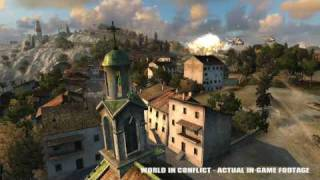 World in Conflict - rule the world gameplay trailer