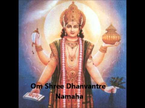 Dhanvantari mantra for healing