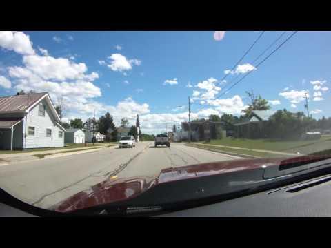 Drive through Germfask MI 07-03-2014
