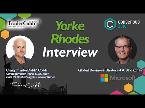 Yorke Rhodes III: Co-Founder of Microsoft's Blockchain Strategy