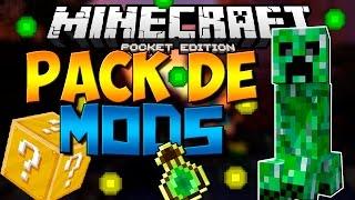 ¡Pack De Mods Para Minecraft PE 0.14.0 [Sin Textura] | Mods Para Minecraft PE 0.14.0