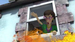 Strażak Sam Ogień w domu! Nowe odcinki Najlepsze uratowania Kreskówki dla dzieci