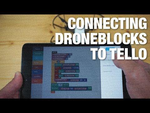 Quick Overview of Connecting DroneBlocks to Tello