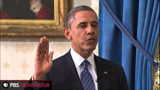 Watch President Obama Take the Oath of Office