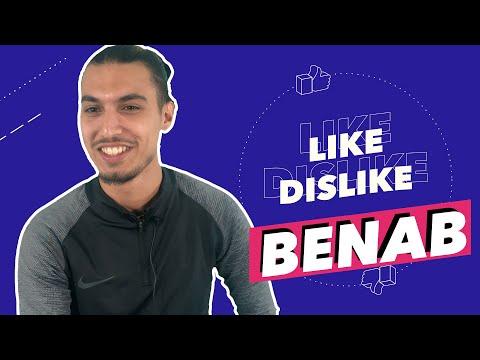 Youtube: Benab – Like & Dislike avec Imen Es, Maes & des dossiers avec la Juventus, Kevin et des Steaks 🥩🤬