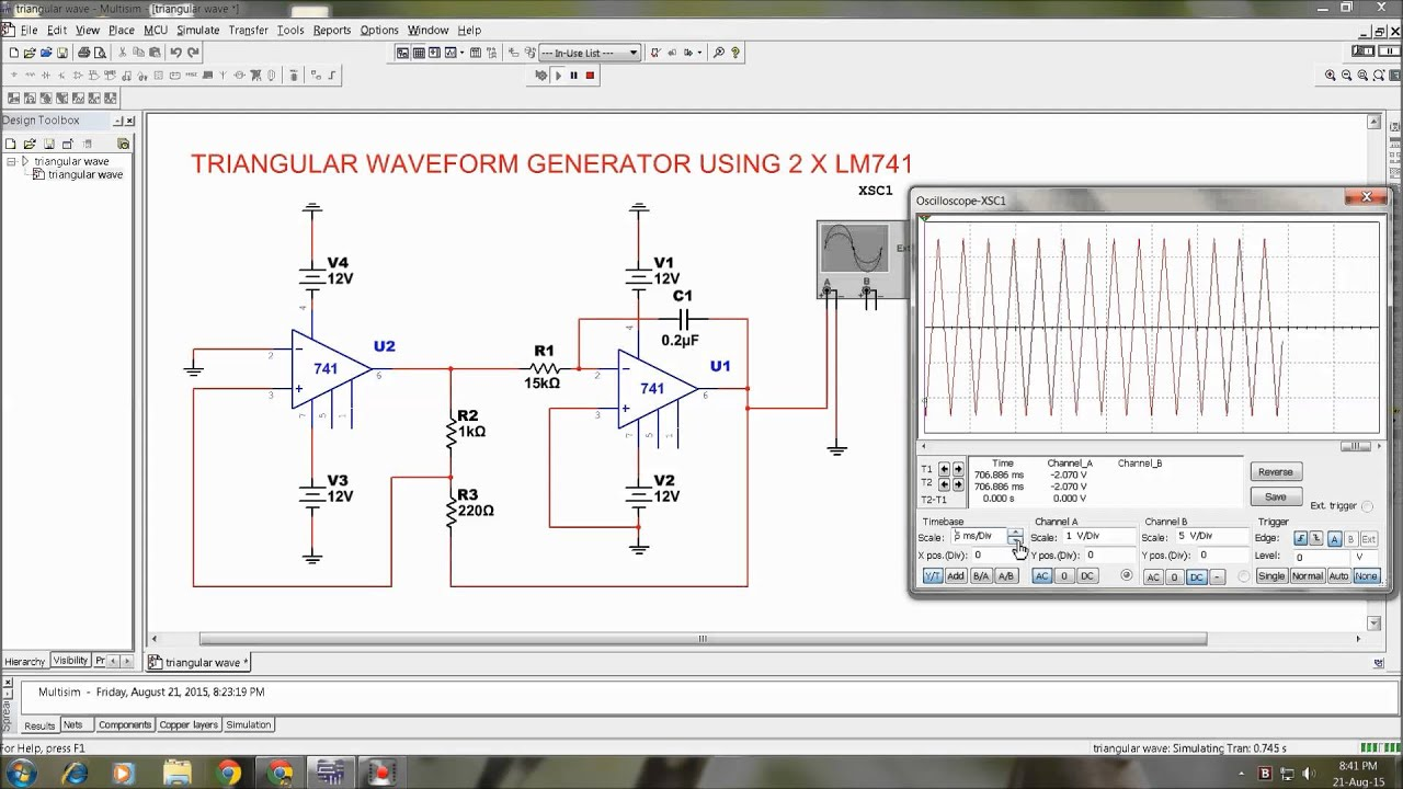Triangle Wave Generator Circuit 555 Waveform Triangular Youtube 1920x1080