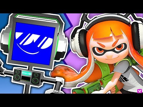 SPLATOON SONG ► Fandroid The Musical Robot 🦑