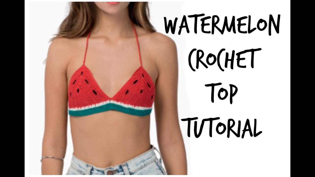 Crochet bikini top pattern are absolutely