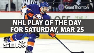 NHL Picks | Ian Cameron's Play Of The Day, March 25th