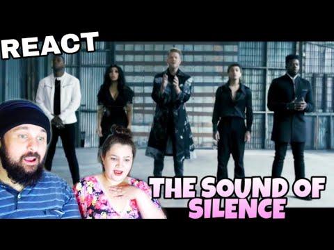 REAGINDO: PENTATONIX - SOUND OF SILENCE