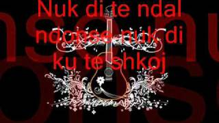 Upstream ft Kelly - Nuk di  [( teksti) (lyrics)]