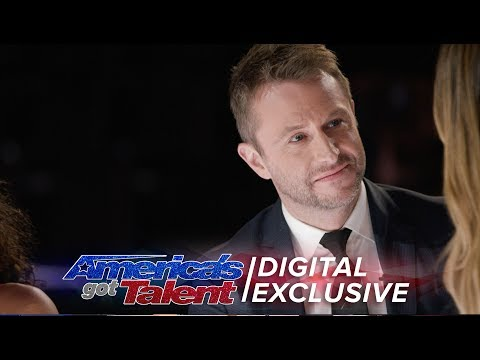 Chris Hardwick Joins AGT As Special Guest Judge - America's Got Talent 2017 (Extra)