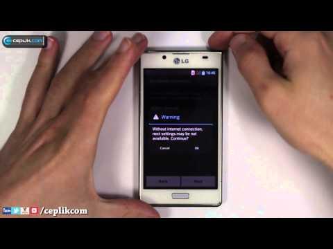 LG Optimus L7 Modeline Nasıl Format Atılır?