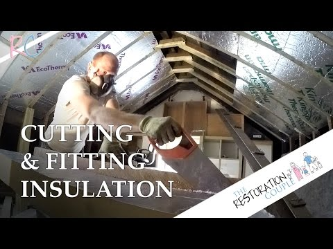 How To Cut And Fit Insulation Boards