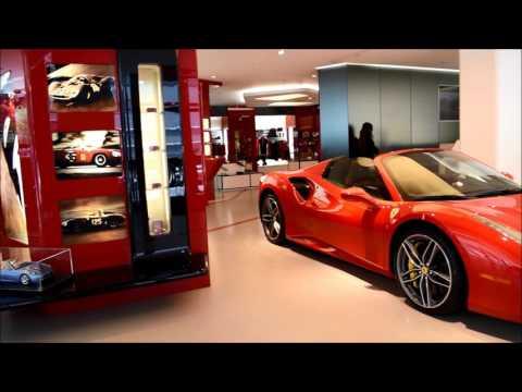 Ferrari Store, Manhattan, New York, USA