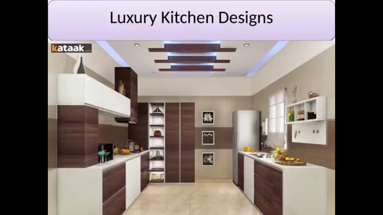 Modular kitchen decorating ideas kitchen cabinet designs for Latest modern kitchen design in india