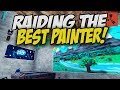 Raiding the Best Rust Painter! - Rust Solo Survival Gameplay