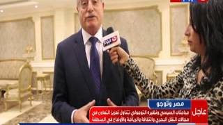 محافظ جنوب سيناء: الجسر البري وميناء نويبع «ينابيع الخير» لمصر والسعودية