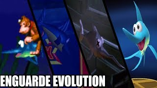 Evolution of Enguarde the Swordfish