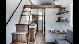 Modern Tiny House, Complete With Interior Design And Space Planning
