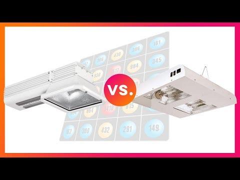 LEP Versus LEC   Test & Compare Plamsa Light Vs. Ceramic Metal Halide for Indoor Greenhouse