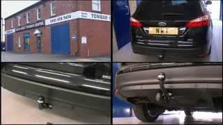 el Ford Focus MK III Turnier Estate SW 2011on Fixed towbar swan neck kit