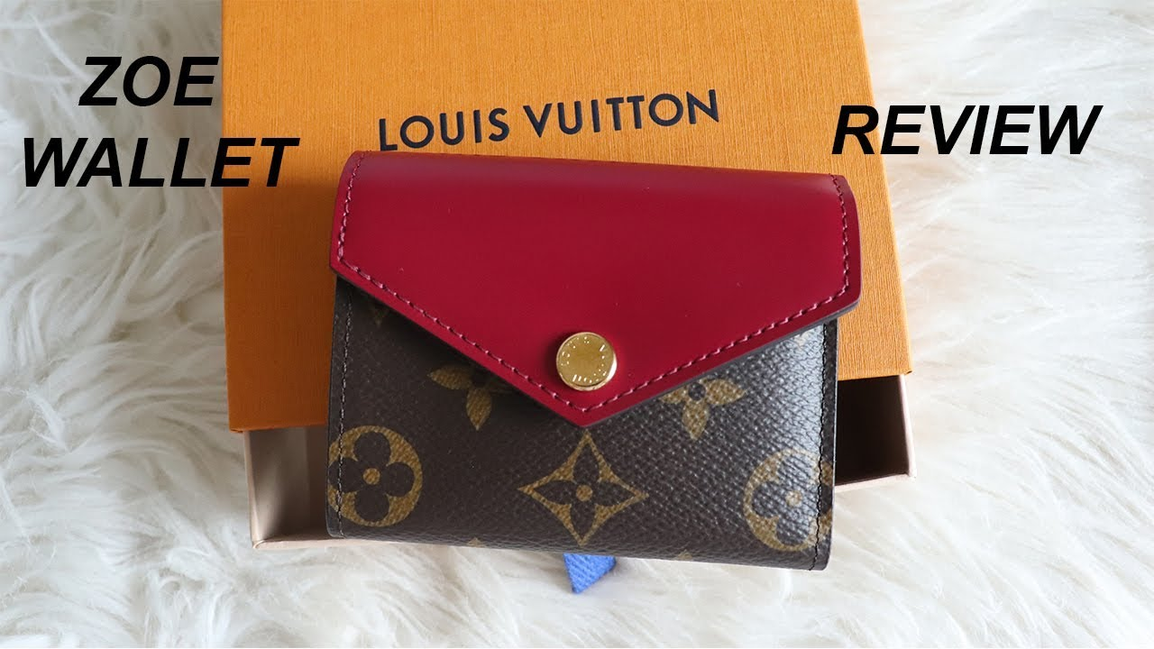 4218587f113a LOUIS VUITTON ZOE WALLET