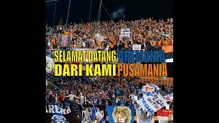 Video LUAR BIASA !! SAMBUTAN PUSAMANIA UNTUK AREMANIA . BORNEO FC VS AREMA FC download MP3, 3GP, MP4, WEBM, AVI, FLV April 2018