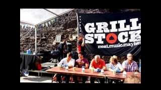 Grillstock Chili Eating Contest at Abergavenny Food Festival 2013